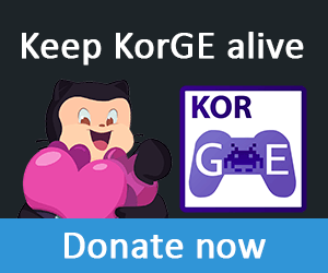 Donate to KorGE Game Engine